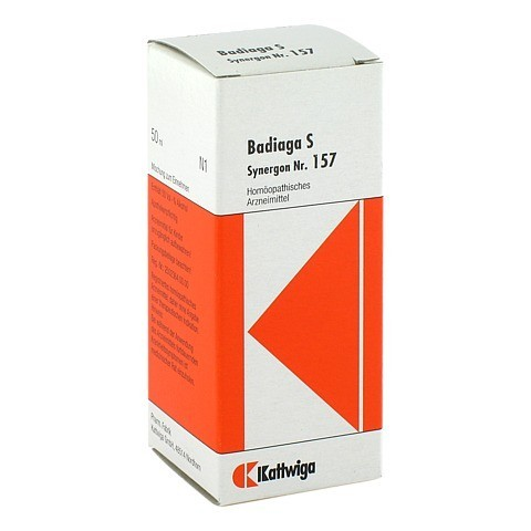SYNERGON KOMPLEX 157 Badiaga S Tropfen 50 Milliliter N1
