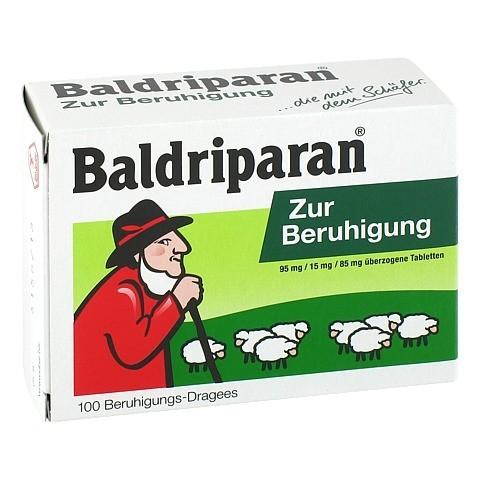 BALDRIPARAN Zur Beruhigung überzogene Tabletten 100 Stück