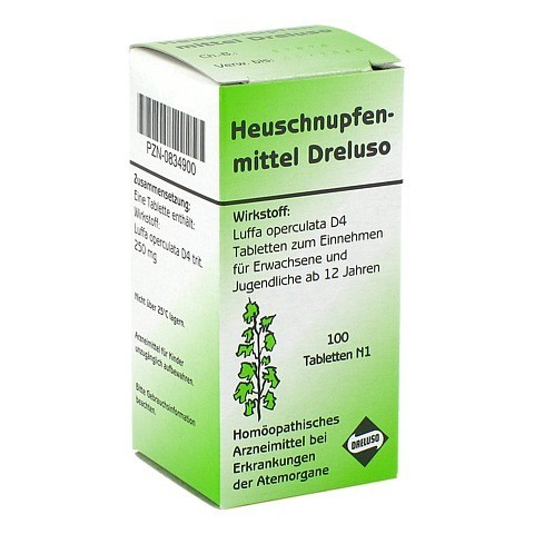 HEUSCHNUPFENMITTEL Dreluso Tabletten 100 Stück N1