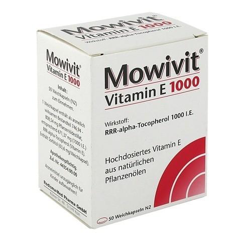 MOWIVIT Vitamin E 1000 Kapseln 50 Stück N2