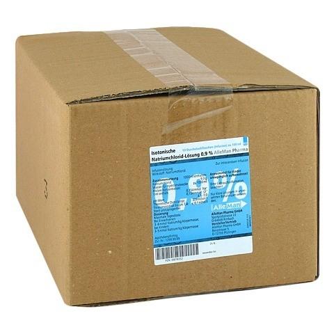 ISOTONISCHE NaCl 0,9% DELTAMEDICA Inf.-Lsg.Plastik 10x100 Milliliter N2