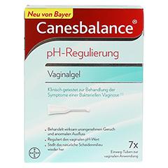 CANESBALANCE pH-Regulierung Vaginalgel 7x5 Milliliter - Vorderseite