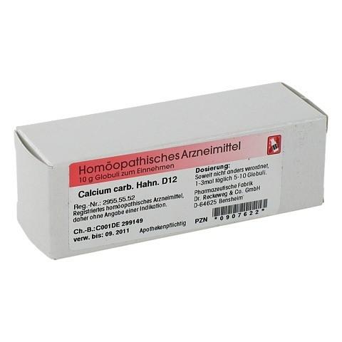 CALCIUM CARBONICUM Hahnemanni D 12 Globuli 10 Gramm N1