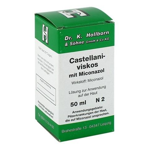 Castellani viscos mit Miconazol 50 Milliliter N2