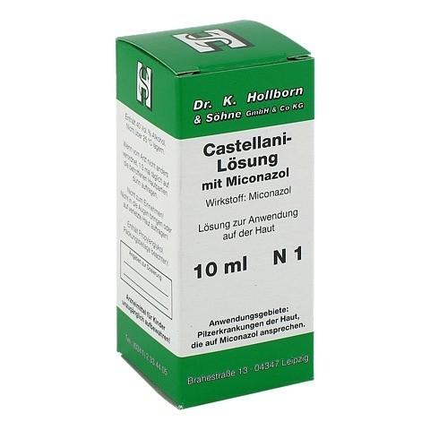 Castellani mit Miconazol 10 Milliliter N1