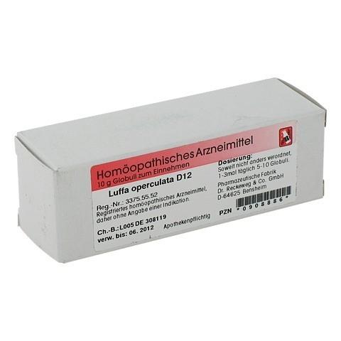 LUFFA OPERCULATA D 12 Globuli 10 Gramm N1