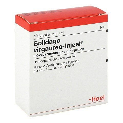 SOLIDAGO VIRGAUREA INJEEL Ampullen 10 Stück N1