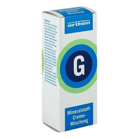 MINERALSTOFF-Creme-Mischung G 75 Milliliter