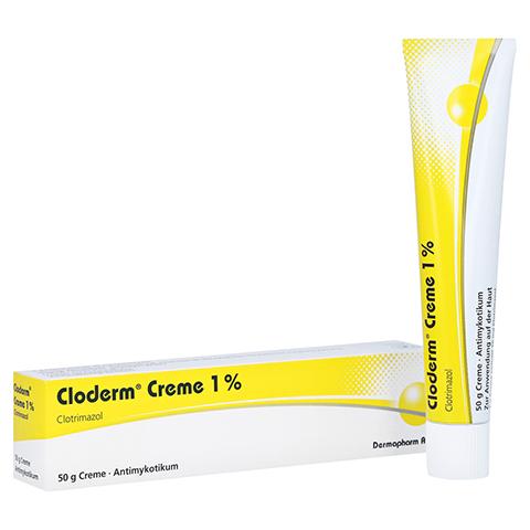 Cloderm Creme 1% 50 Gramm N2