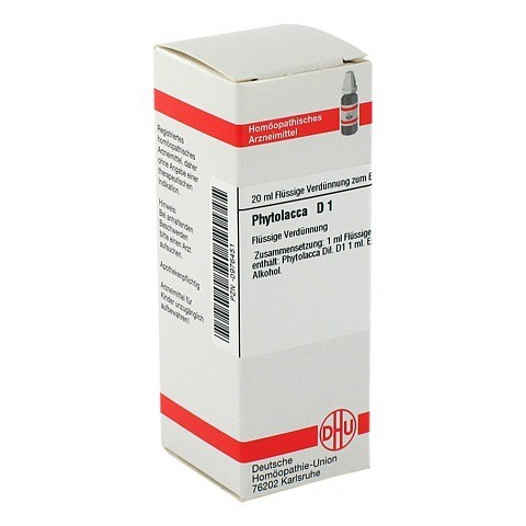 PHYTOLACCA D 1 Dilution 20 Milliliter N1
