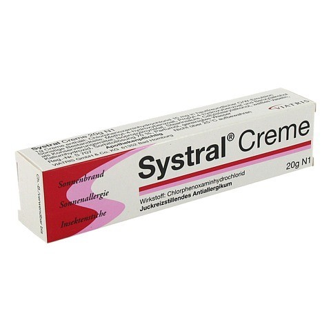 SYSTRAL Creme 20 Gramm N1