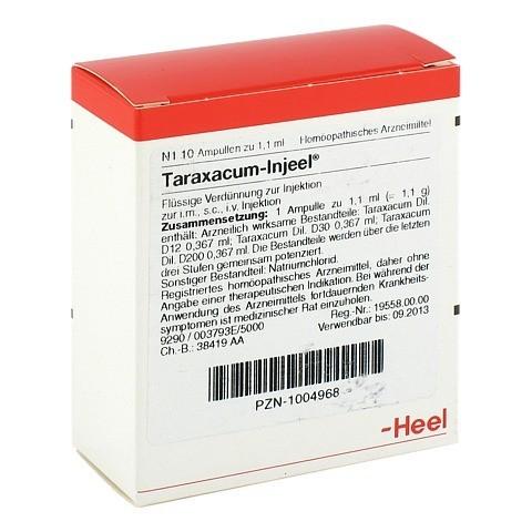 TARAXACUM INJEEL Ampullen 10 Stück N1