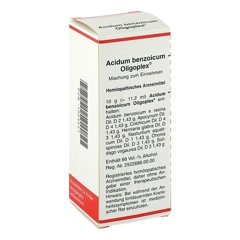 ACIDUM BENZOICUM OLIGOPLEX Liquidum 50 Milliliter N1