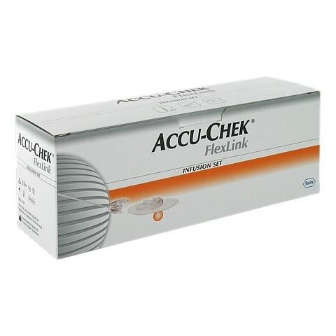 ACCU CHEK FlexLink 10/110 mit Adapter Infusionsset 10 Stück