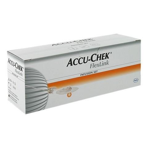 ACCU CHEK FlexLink 8/80 mit Adapter Infusionsset 10 Stück