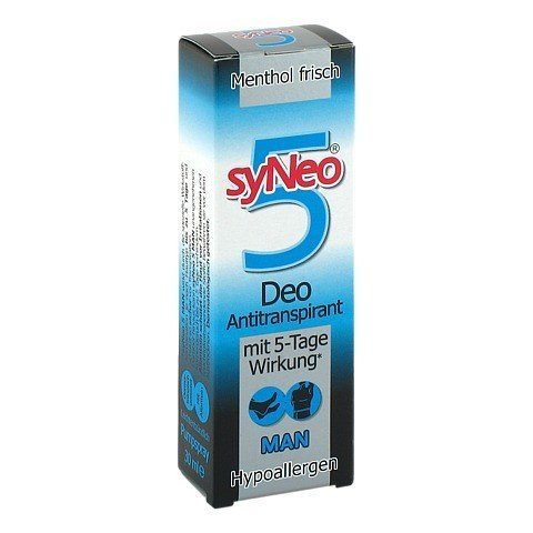 SYNEO 5 Man Deo Antitranspirant Spray 30 Milliliter