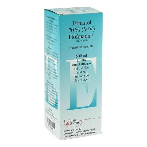 ETHANOL 70% V/V Hofmann's 500 Milliliter
