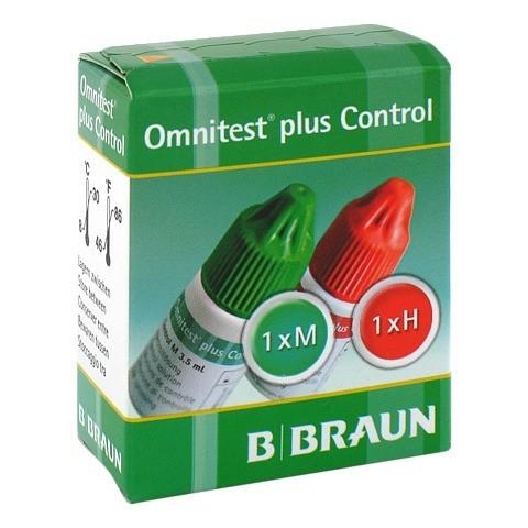 OMNITEST Plus Control Lösung 2x3 Milliliter