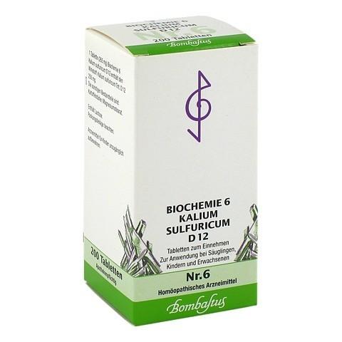 BIOCHEMIE 6 Kalium sulfuricum D 12 Tabletten 200 Stück N2