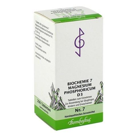BIOCHEMIE 7 Magnesium phosphoricum D 3 Tabletten 200 Stück N2