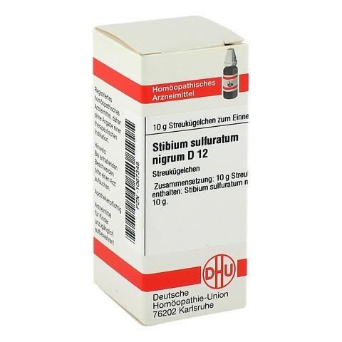 STIBIUM SULFURATUM NIGRUM D 12 Globuli 10 Gramm N1