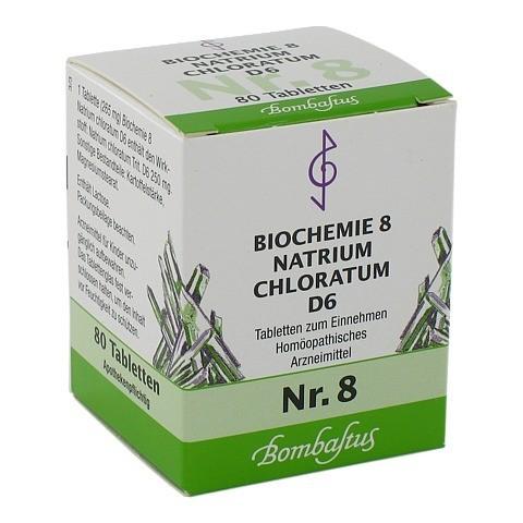 BIOCHEMIE 8 Natrium chloratum D 6 Tabletten 80 Stück N1