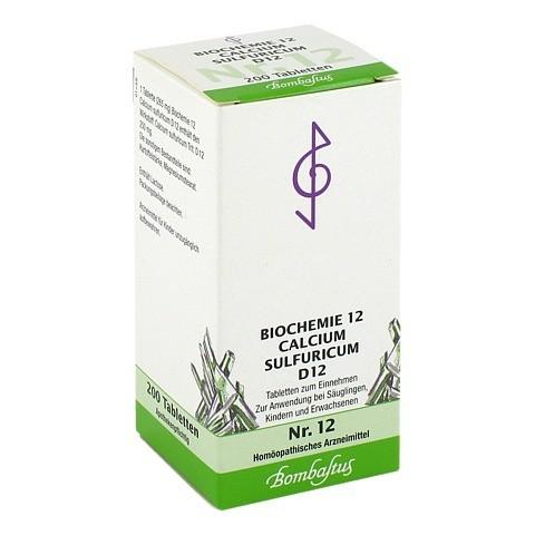 BIOCHEMIE 12 Calcium sulfuricum D 12 Tabletten 200 Stück N2
