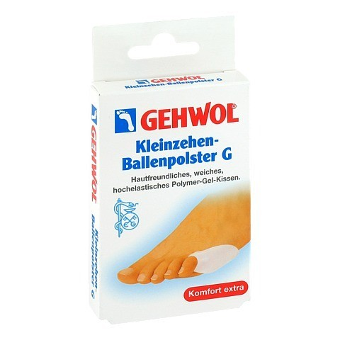 GEHWOL Kleinzehen Ballenpolster G 1 Stück