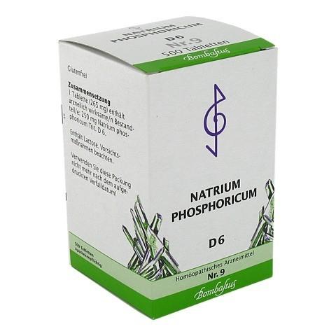 BIOCHEMIE 9 Natrium phosphoricum D 6 Tabletten 500 Stück N3