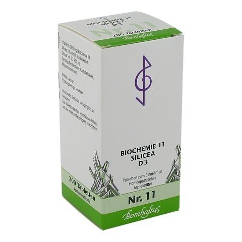 BIOCHEMIE 11 Silicea D 3 Tabletten 200 Stück N2