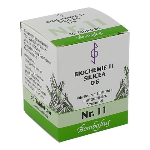 BIOCHEMIE 11 Silicea D 6 Tabletten 80 Stück N1
