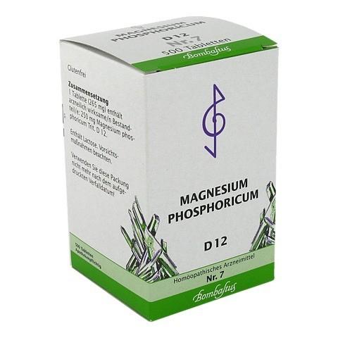 BIOCHEMIE 7 Magnesium phosphoricum D 12 Tabletten 500 Stück N3
