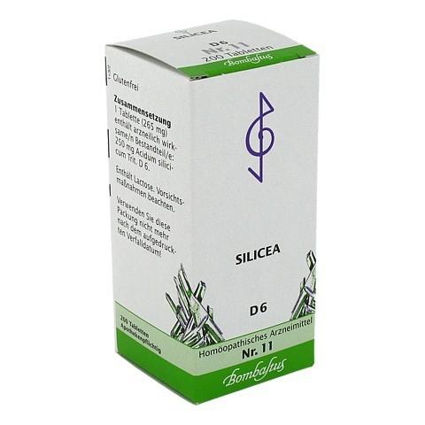 BIOCHEMIE 11 Silicea D 6 Tabletten 200 Stück N2
