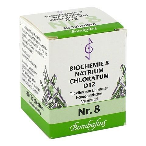 BIOCHEMIE 8 Natrium chloratum D 12 Tabletten 80 Stück N1