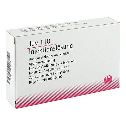 JUV 110 Injektionslösung 1,1 ml Ampullen 20x1.1 Milliliter