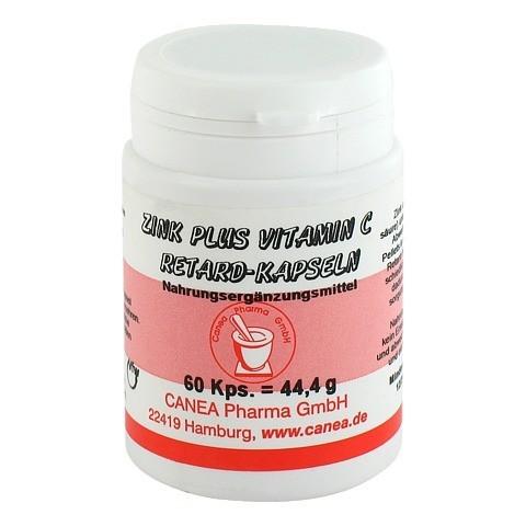 ZINK PLUS Vitamin C retard Kapseln 60 Stück
