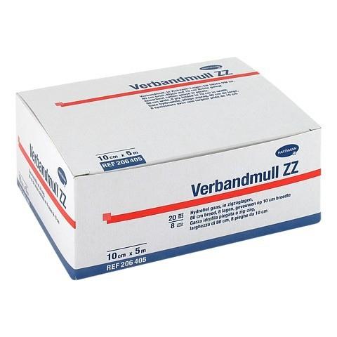 VERBANDMULL Hartmann 10 cmx5 m zickzack 1 Stück