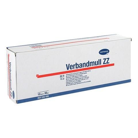 VERBANDMULL Hartmann 10 cmx10 m zickzack 1 Stück