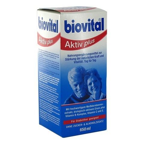 BIOVITAL Aktiv Plus Tonikum 650 Milliliter