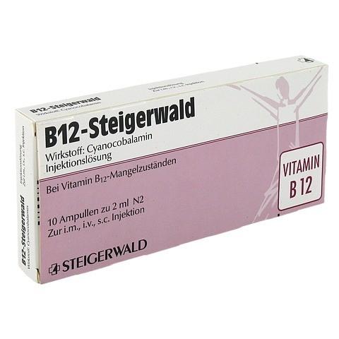 B12 STEIGERWALD Injektionslösung 10x2 Milliliter