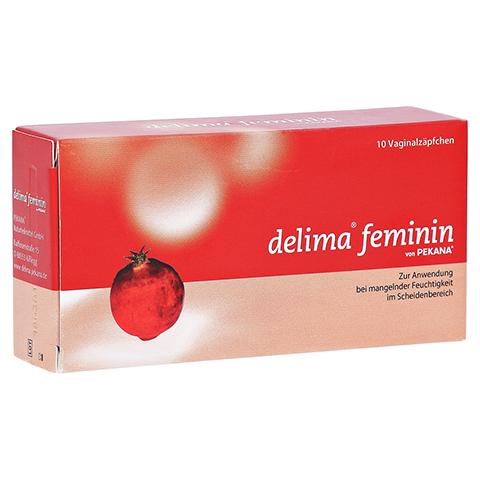 DELIMA feminin Vaginalovula 10 Stück