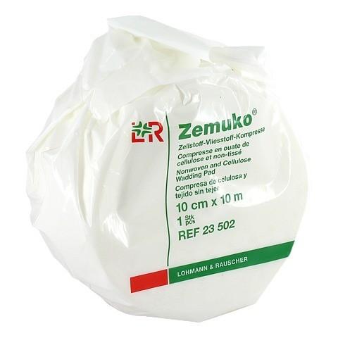 ZEMUKO Vliesstoff-Kompr.gerollt 10 cmx10 m 1 Stück