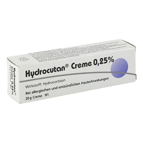 Hydrocutan 0,25% 20 Gramm N1