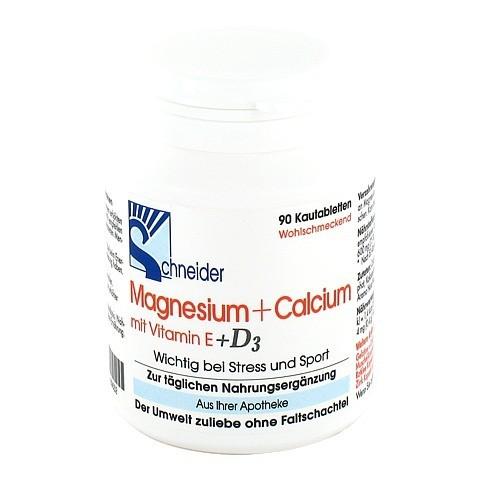 MAGNESIUM+CALCIUM Kautabletten 90 Stück