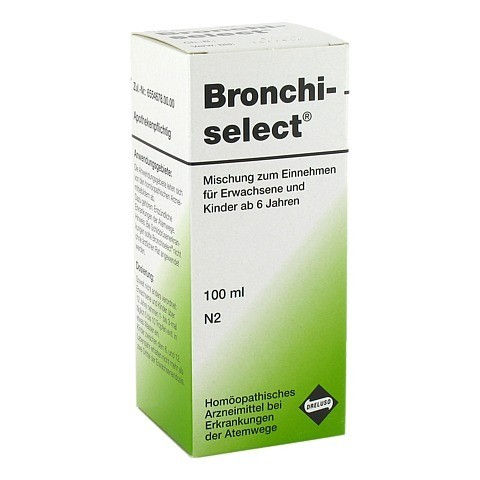 BRONCHISELECT Tropfen 100 Milliliter N2