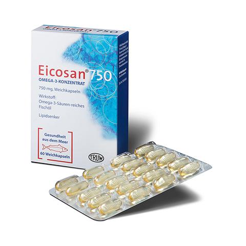 Eicosan 750 Omega-3-Konzentrat 60 Stück