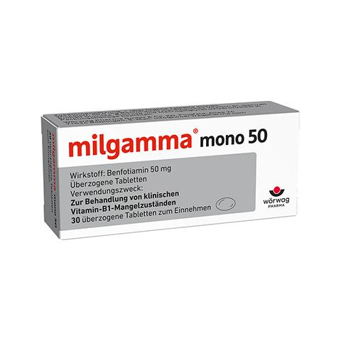 MILGAMMA mono 50 überzogene Tabletten 30 Stück