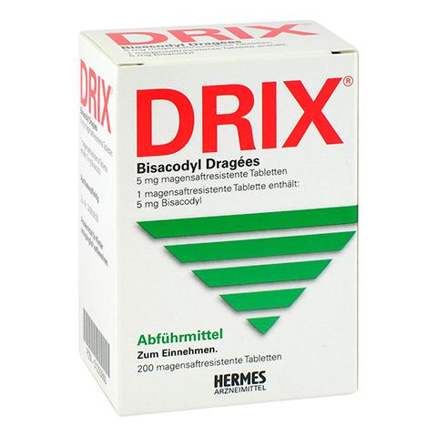 Drix Bisacodyl-Dragees 200 Stück