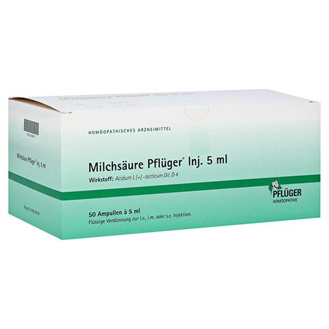 MILCHSÄURE Pflüger Injektionslösung 5 ml 50 Stück