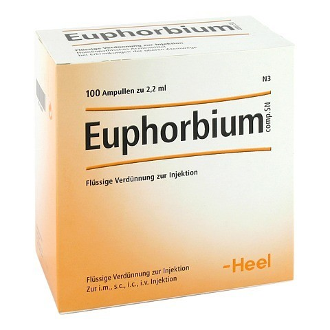 EUPHORBIUM COMPOSITUM SN Ampullen 100 Stück N3